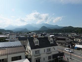 ホテルファミテック日光駅前店 眺望