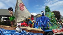 Clutha Santa Parade