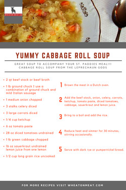 YUMMY CABBAGE ROLL SOUP