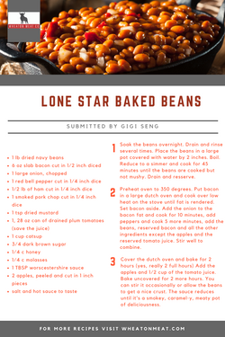 Lone Star Baked Beans