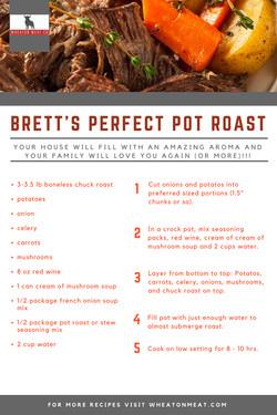 Brett's Perfect Pot Roast