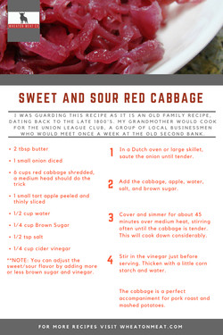 Sweet & Sour Red Cabbage