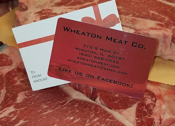 Wheaton Meat Co. Gift Card