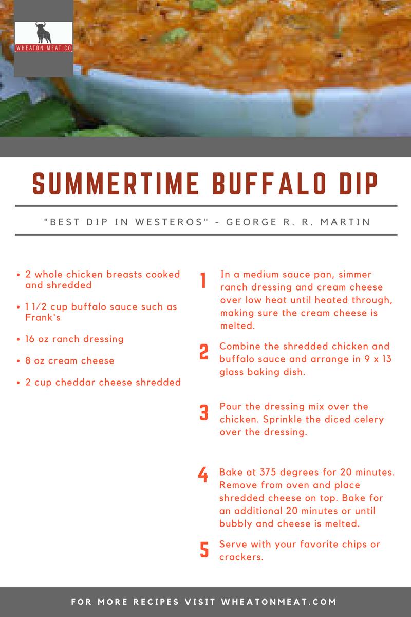 SUMMERTIME BUFFALO DIP