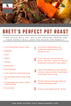 Brett's Perfect Pot Roast