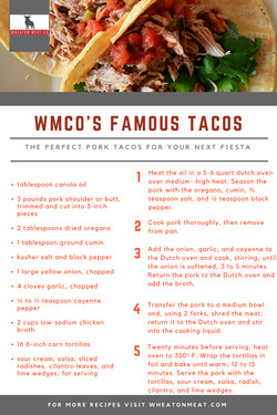 WMCO's Famous Tacos
