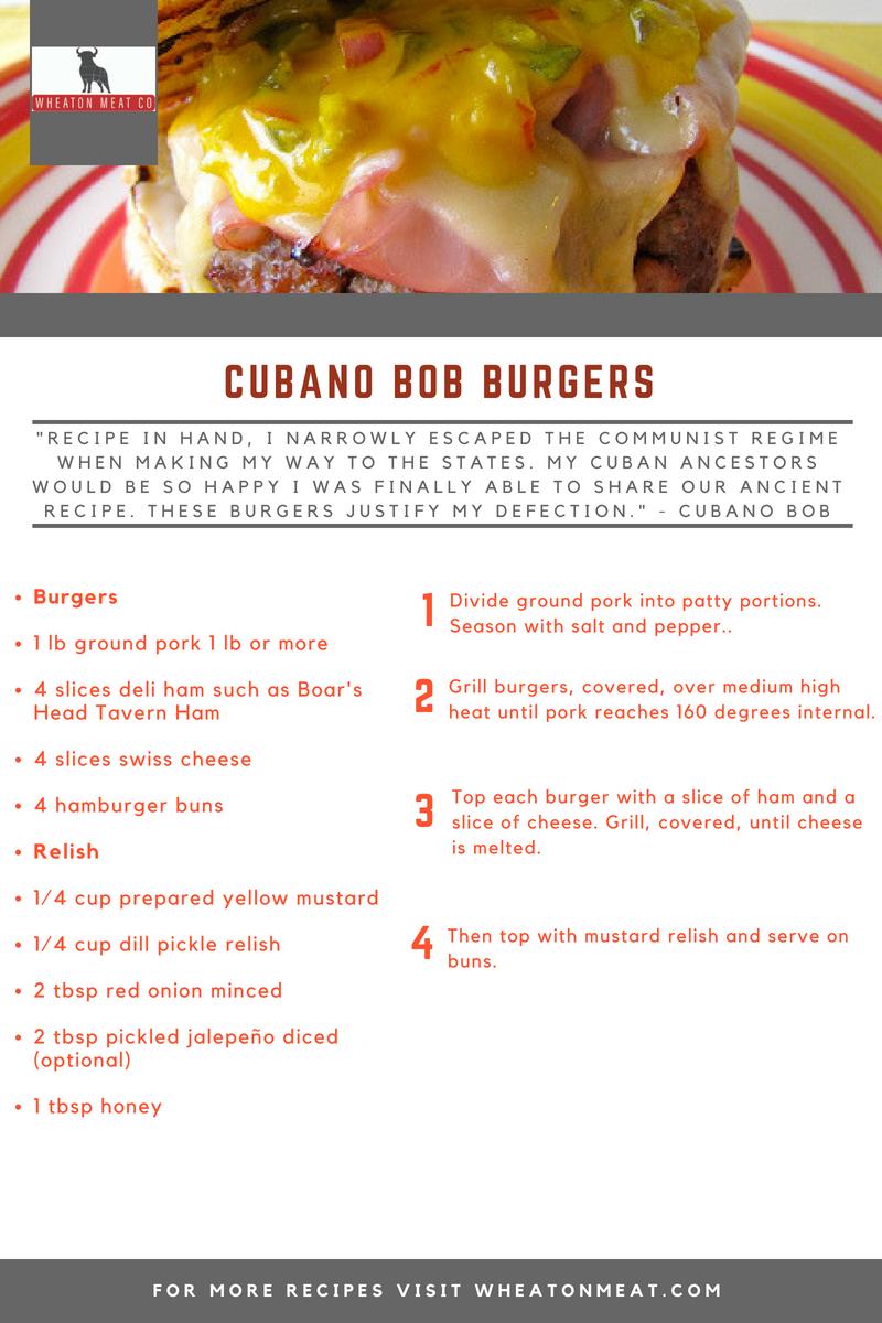 CUBANO BOB BURGERS