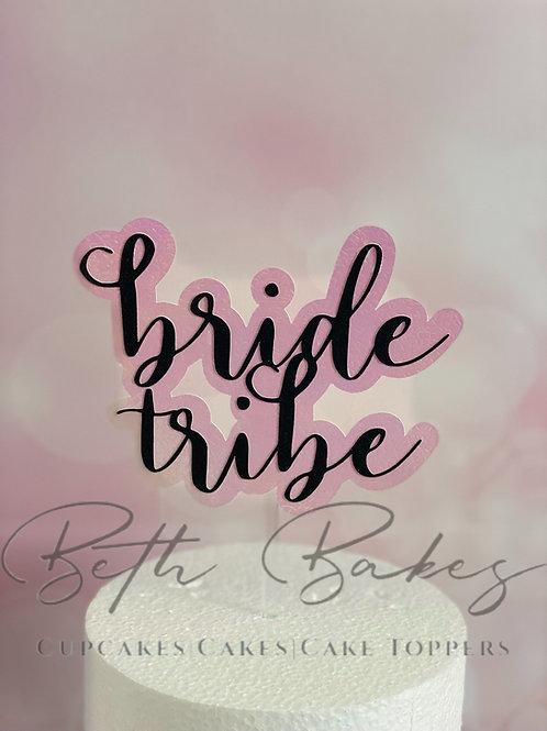 Bride Tribe Cake Topper