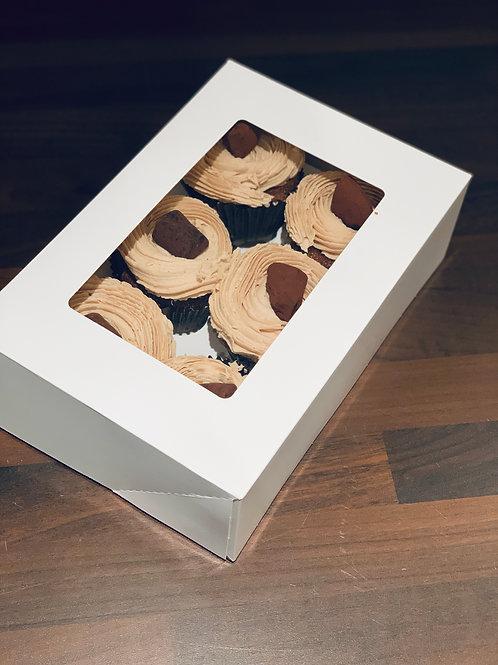 6 Mocha Cupcakes