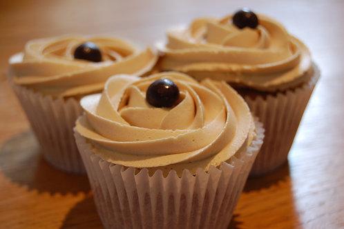 6 Coffee Cupcakes