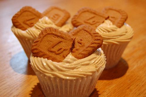 6 Biscoff Cupcakes