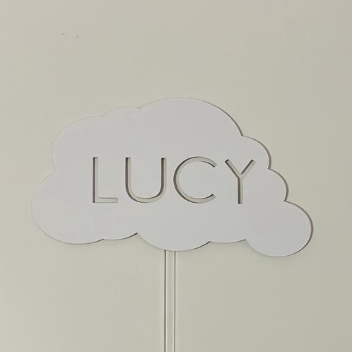 Personalised Cloud Cake Topper