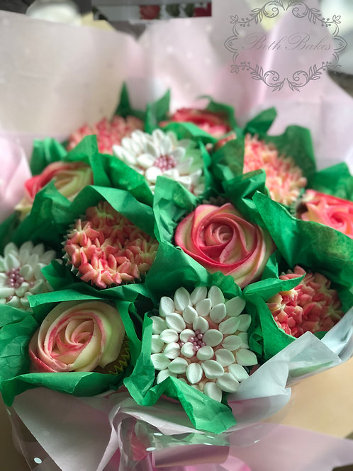12 cupcake bouquet