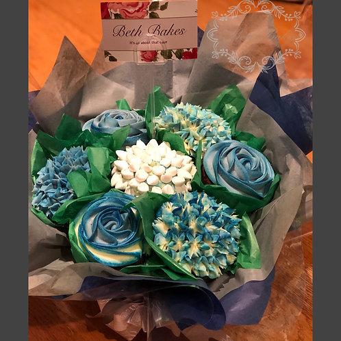 7 Cupcake Bouquet