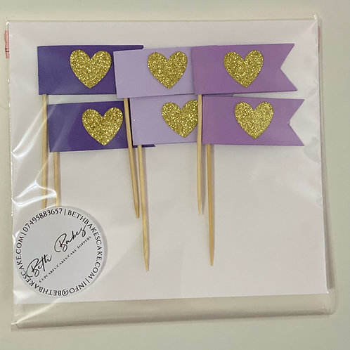 Flag Cupcake Toppers