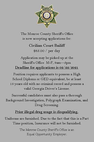 Civilian Baliff Job Ad.jpg