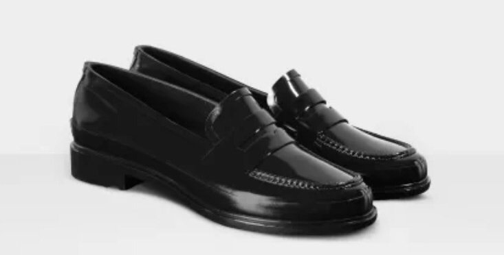 Women's Original Gloss Penny Loafers: Black