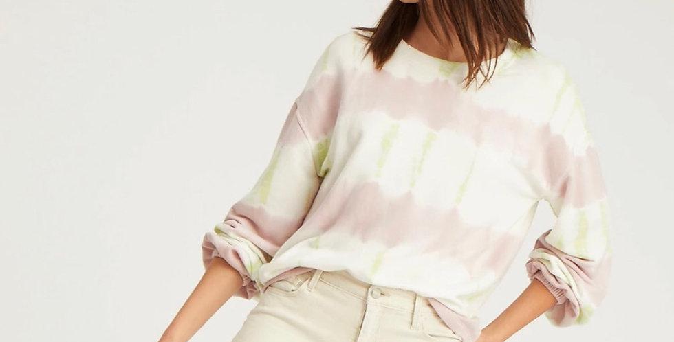 Pink & Lime Tie dye Sweatshirt