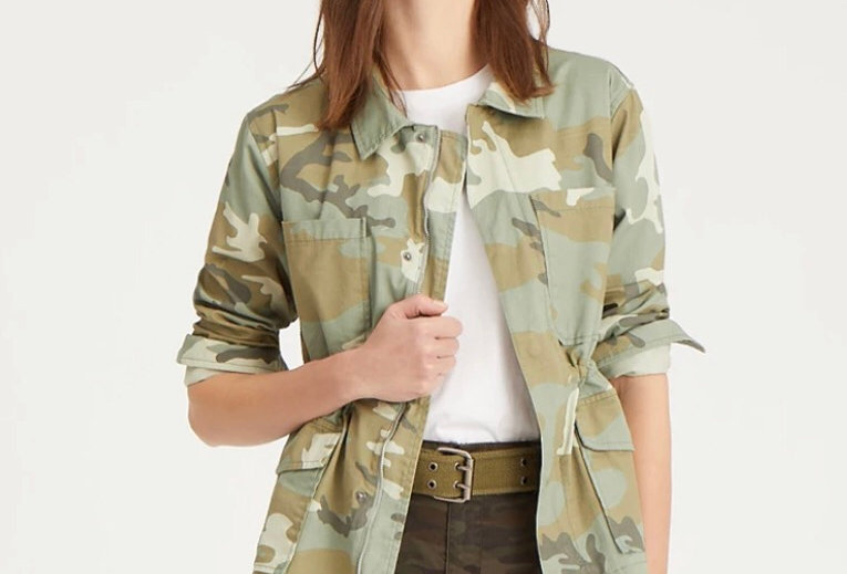 Desert Sage Camo Jacket