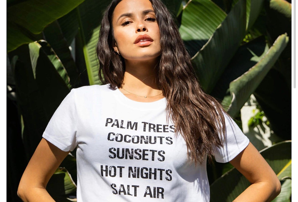 Palm Trees Tee