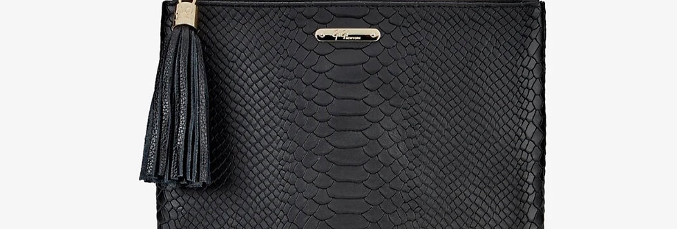 All In One Black Embossed