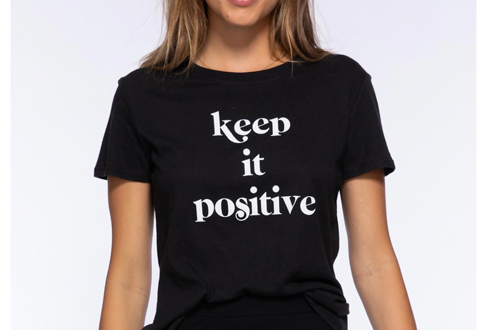 Keep It Positive Tee