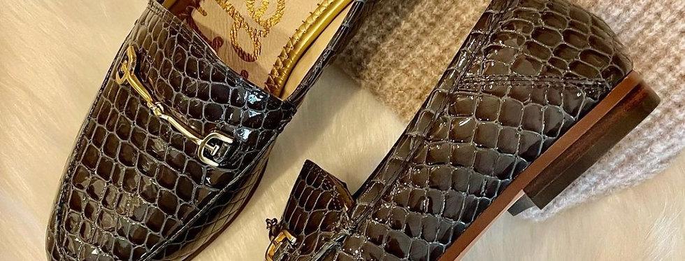 Blue Croc Loafer