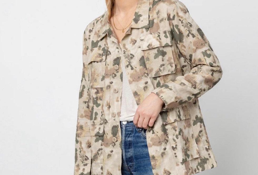 Watercolor Camo Jacket