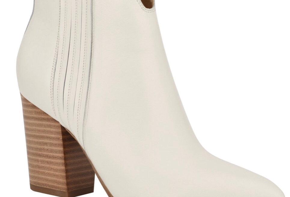 Off white western heel
