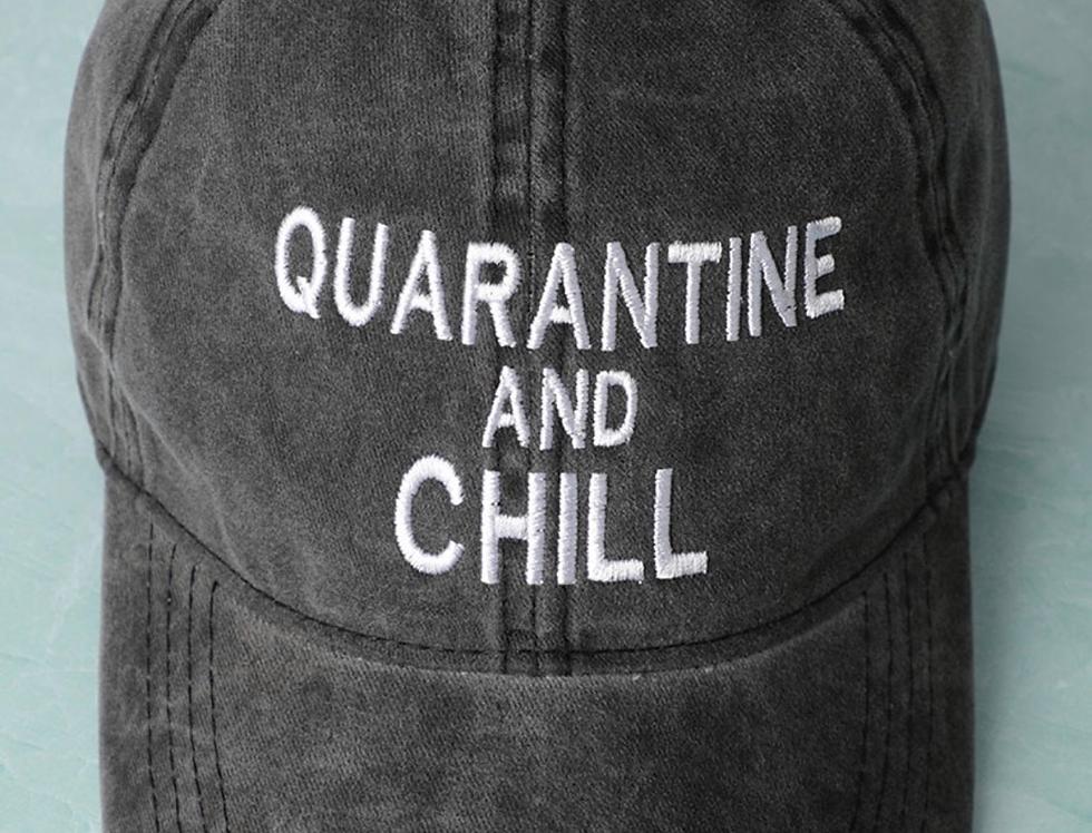 Quarantine & Chill Baseball Cap