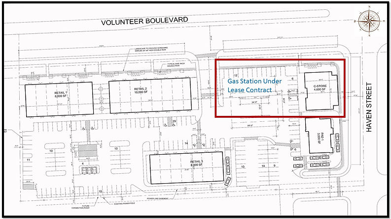 Siteplan Volunteer_Gas StationUnderCon_1