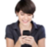 026093232-smiling-woman-texting-her-mobi