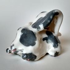 Grey Ceramic Rabbit