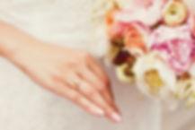 美しい結婚式のブーケ