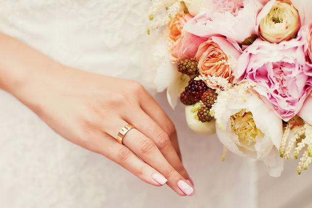 美麗的新娘捧花
