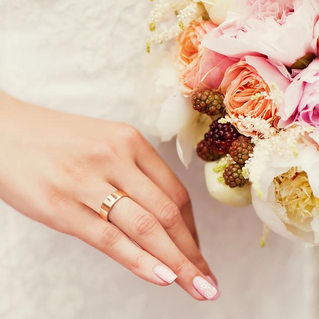 schöne Hochzeit Bouquet