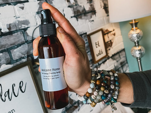 Welcome Home: The Energy Clearing Spray
