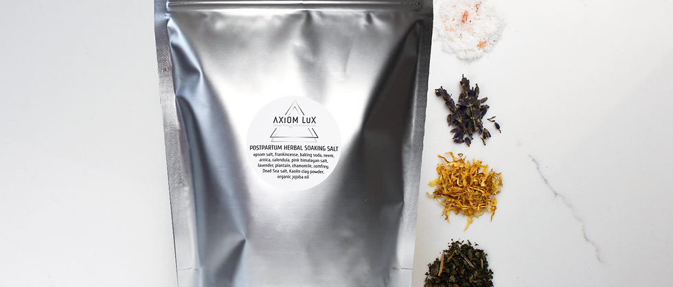 Postpartum Herbal Soaking Salt