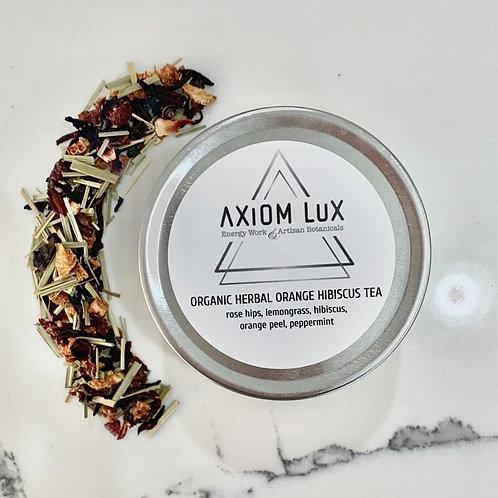Organic Herbal Orange Hibiscus Tea