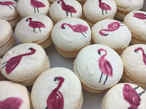 Custom Hand-Painted French Macarons