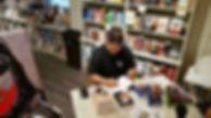 Book signing at M. Judson's Book Store in Greenville,SC