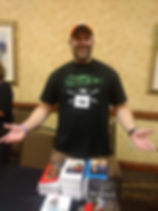 Third trip to Killer Nashville, selling books!