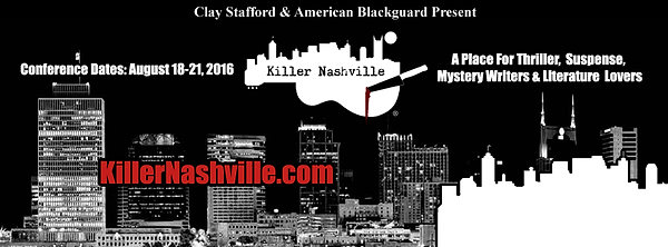 Official title background from the web site of the Killer Nashville Writers Conference
