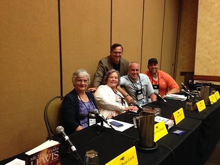 Second trip toKiller Nashville, spoke onsome authors' panels