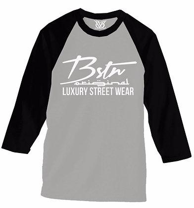 BSTN ORIGINAL LUX RAGLAN (GREY/BLK)