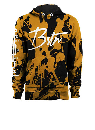 BSTN BLEACHED STAINED HOODIE