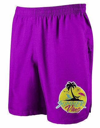 Summer Vibes Shorts (Purple)
