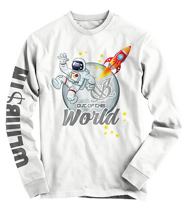 Out of This World Long Sleeve (White)
