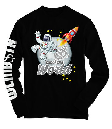 Out of This World Long Sleeve (Black)