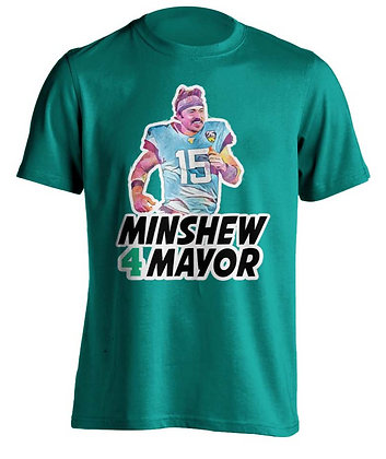 Minshew 4 Mayor (Teal)